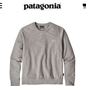 NWOT PATAGONIA CREW SWEATSHIRT
